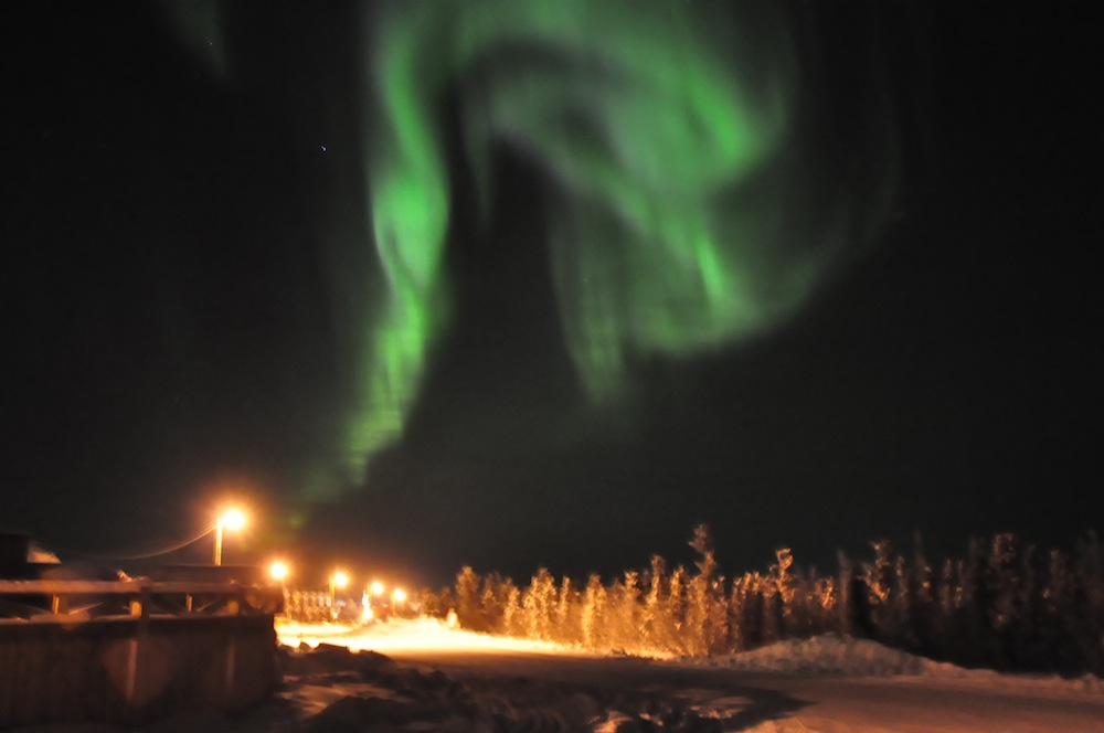 northern lights life in inuvik northwest territories
