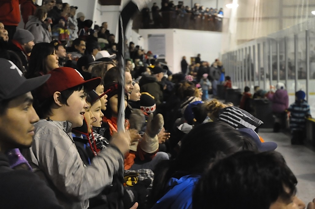 NHL Hockey Players Visit Inuvik, Northwest Territories - Part 2: The Exhibition Game